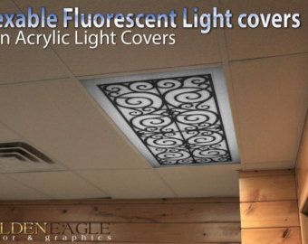15 Must-see Fluorescent Light Covers Pins | Waiting rooms, Ceiling light  covers and Lighting