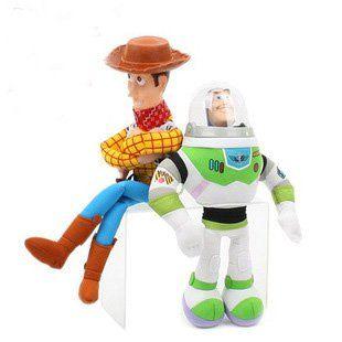 В игрушки история плюш игрушки древесный шериф и базз лайтер кукла 1 pair/lot