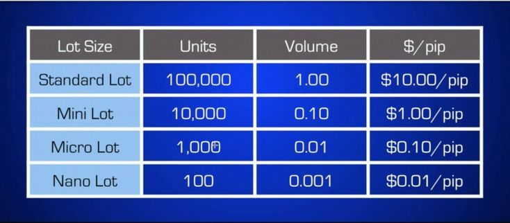 What Is The Meaning Of Lot Size In Forex