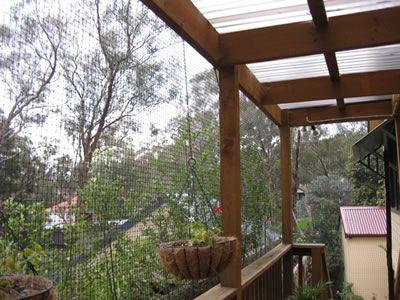 Home Made Cat Enclosures