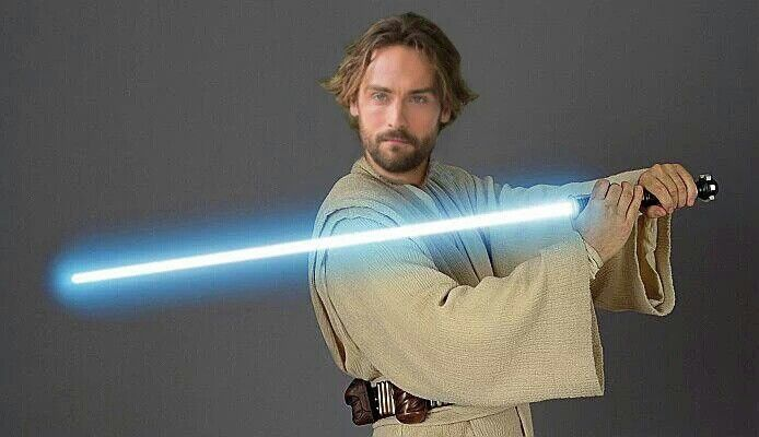 Is that your light saber, Mison, or are you just happy to see me?