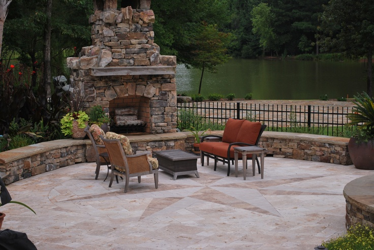 15 best Travertine patios images on Pinterest | Travertine ... on Travertine Patio Ideas id=72925