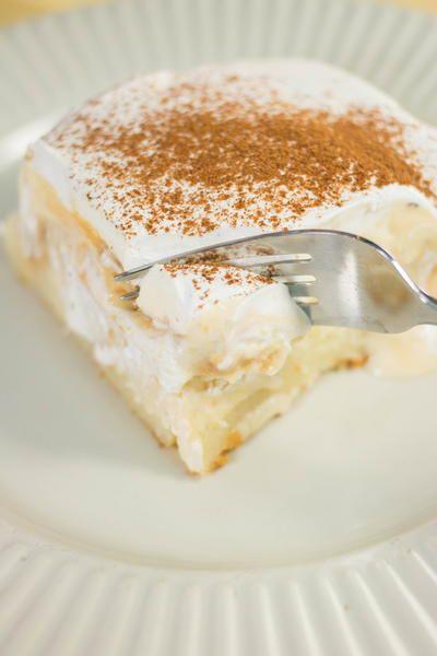 Eggnog pudding poke cake_Úžasný pudingový koláčik