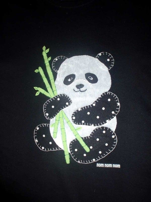 Panda Applique ∙ Creation by Mon Mon on Cut Out + Keep