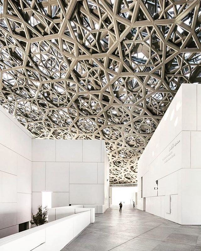 Louvre: Abu Dhabi Floating Dome