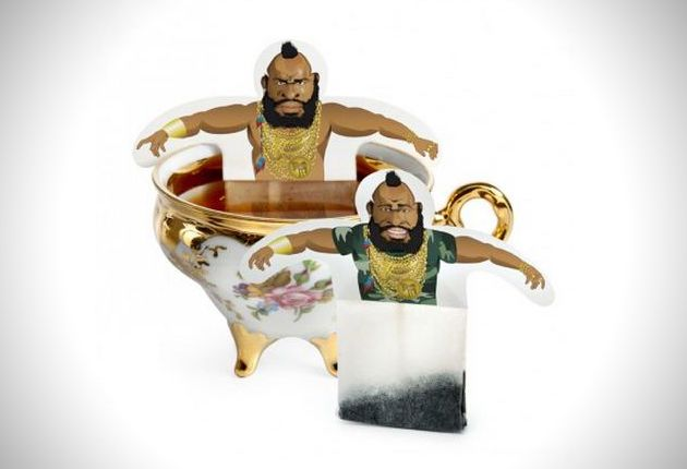 Mr T. Tea Bag