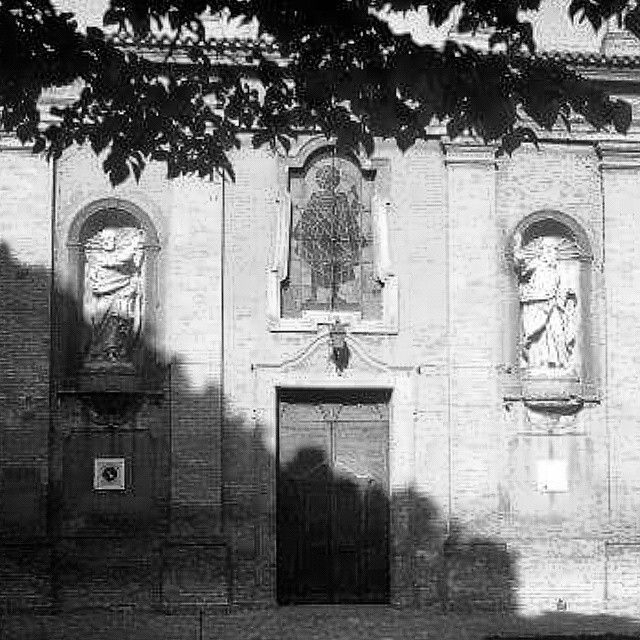 #chiesa di #vigaranopieve *** #church #ferrara #igersferrara #igersemilia #igersemiliaromagna #blackandwhite #instaitaly #instaemiliaromagna #instaemilia #instaferrara #italy