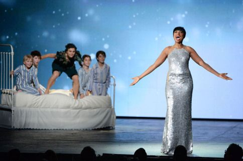 The great Jennifer Hudson's star power shined through as she preformed a number from the forthcoming musical 'Finding Neverland.'