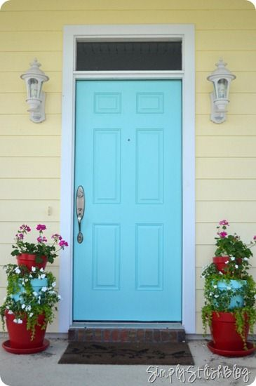 1000 Ideas About Yellow House Exterior On Pinterest