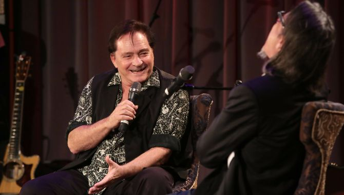 Marty Balin discussed his career and the 50th anniversary of Jefferson Airplane with Scott Goldman, Vice President of MusiCares and the GRAMMY Foundation.