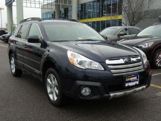 Blue 2014 Subaru Outback 2.5i Limited