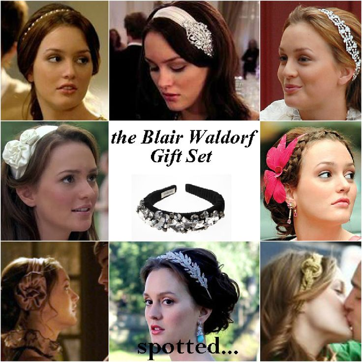 Jennifer Behr- Blair Waldorf Headbands  ONLY $4,000!!! Yeah, much as I'm a sucker for a hot headband (& she does have the hottest), I bet I can make every damn one of them myself.