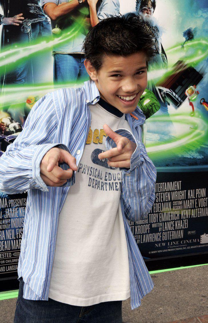 Pin for Later: 18 Transformations de Célébrités Qui Prouvent Qu'il y a de L'espoir Pour Tout le Monde Taylor Lautner