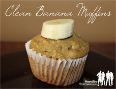 Clean Eating Banana Muffins   He and She Eat Clean