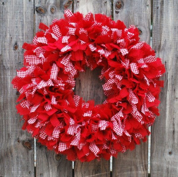 1000 ideas about Rag Wreath Tutorial on Pinterest  : 9e01e1e35fe09afb09482d00a10cc92f from www.pinterest.com size 600 x 594 jpeg 87kB