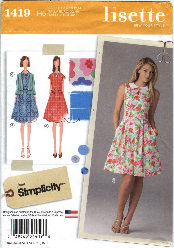 771 besten Simplicity Women\'s/Misses\' Sewing Pattern Collection ...