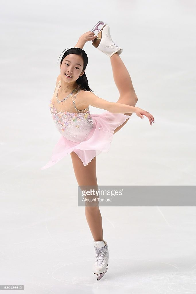 Marin Honda of Japan competes in the Ladies short program during the Japan Figure Skating Championships 2016 on December 24, 2016 in Kadoma, Japan.