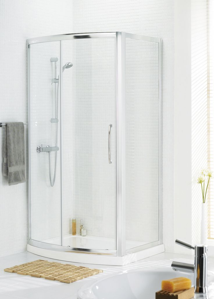 Bow Fronted Slider Shower Enclosure | Lakes Bathrooms