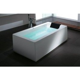 Melbourne Cube Freestanding Bath This Freestanding Bath With A Contemporary  Minimalistic Design Is Ideal For A