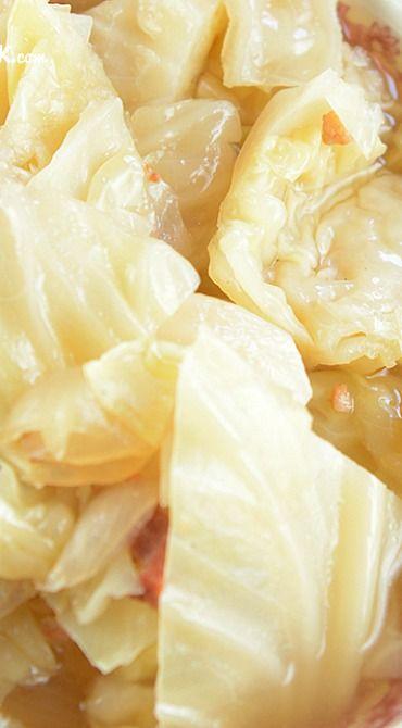 Crock Pot Cabbage