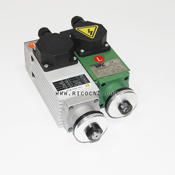 Edgebander Electric Spindle Motors For Trimming And Pre Milling Spindle Electricity Motor