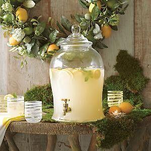 Lemonade, water, sangria, or sweet southern iced tea