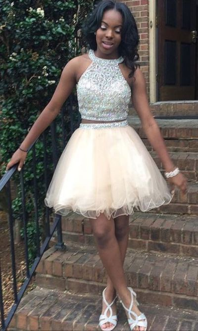 17 Best Ideas About 2 Piece Homecoming Dresses On
