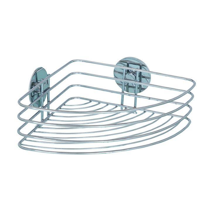 DUSCHHYLLA FÖR HÖRN KROM - Duschhyllor - Dusch och badkar tillbehör - Dusch & Badkar  3 stycken i duschen