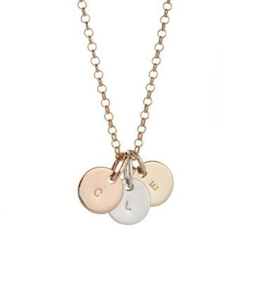 Whilst the OLIVE pendant is delicate & petite it is also fun & cheeky! Sets of pendants in 9ct yellow, white or rose gold, range from 1 to 7 pendants. Don't be fooled by its simplicity, the Olive pendant range is to be worn like a special charm to cherish! Fits 1 lge character centred or 8 sml characters including spaces hugging the edge of the pendant. Measures 6mm(h) x 6mm(w). $130 http://www.koolamandesigns.com.au/shop/olive-p-775.html