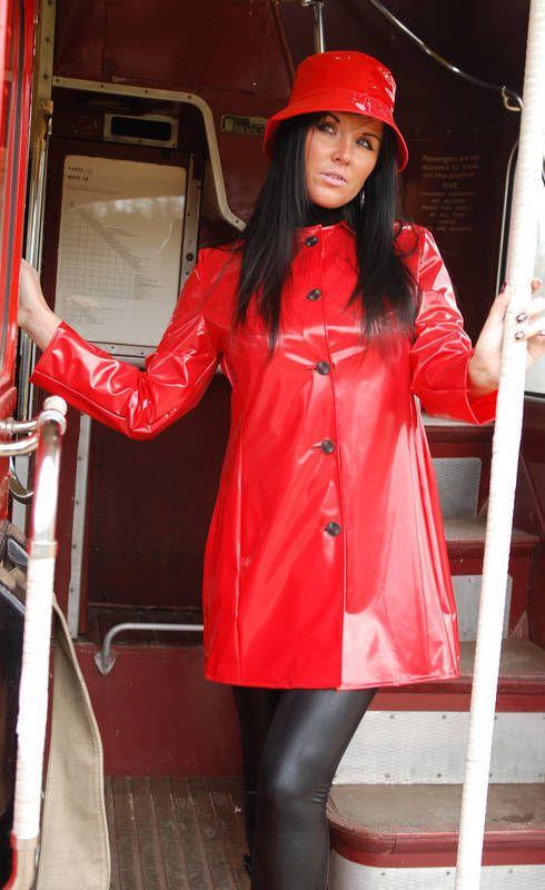 LADIES 3/4 LENGTH 100% PVC RAINCOAT MAC JACKET SWINGING 60S STYLE 3 COLOURS FR14 | Clothes, Shoes & Accessories, Women's Clothing, Coats & Jackets | eBay!