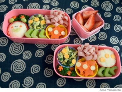 """Change up your kid's everyday lunch with these fun, healthy bento lunch box ideas. Plus, get more delicious kid and <a href=""""http://www.parenting.com/gallery/healthy-toddler-lunch-ideas"""">toddler lunch ideas</a>!"""