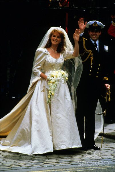 1286 best images about royals andrew sarah on pinterest for 3rd time wedding dresses