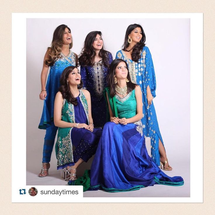 """#Repost @sundaytimes with @repostapp. ・・・ What pretty shades of blue  Loving all these beautiful #NazliAkbar outfits  @nazliakbarofficial…"""