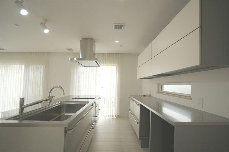 キッチン/モダン/トーヨーキッチン/キッチン収納/シンプル/注文住宅/施工例/ジャストの家/kitchen/interior/house/homedecor/housedesign