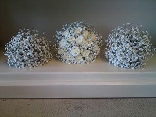 Gypsophila wedding flowers
