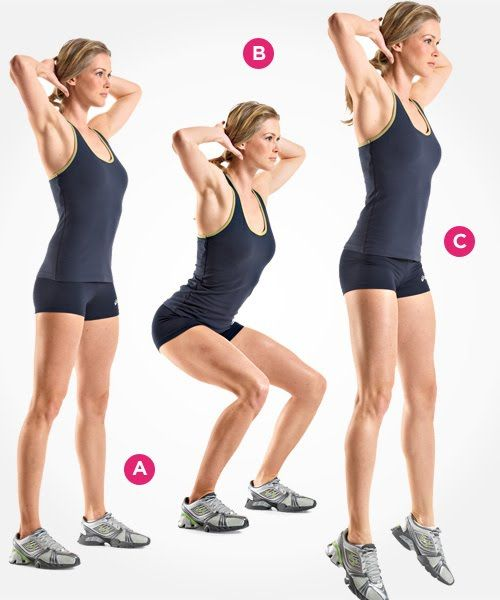 7 Types of Squats You Should Be Doing | Women's Health Magazine // Get the body you deserve with an all natural teatox [a detox with tea] from www.skinnymetea.com.au