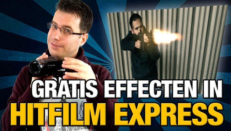 Hitfilm Express #2: Effecten, Teksten en Kleurcorrectie