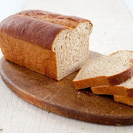 We wanted a hearty, yet light-textured Whole-Wheat Sandwich Bread.