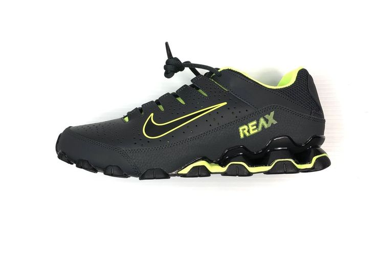 408054ad40aac Nike Men s Reax 8 TR Cross Trainer Shoes Black Size 10.5 New In Box  616272-036
