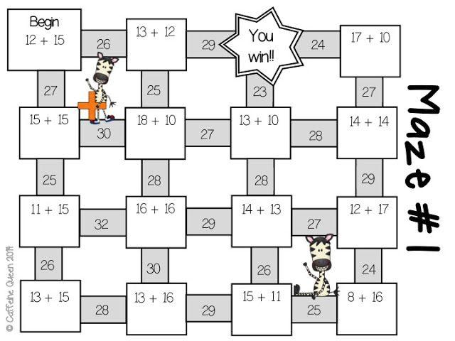 Super Fun Interactive Mazes and Grade Level Change
