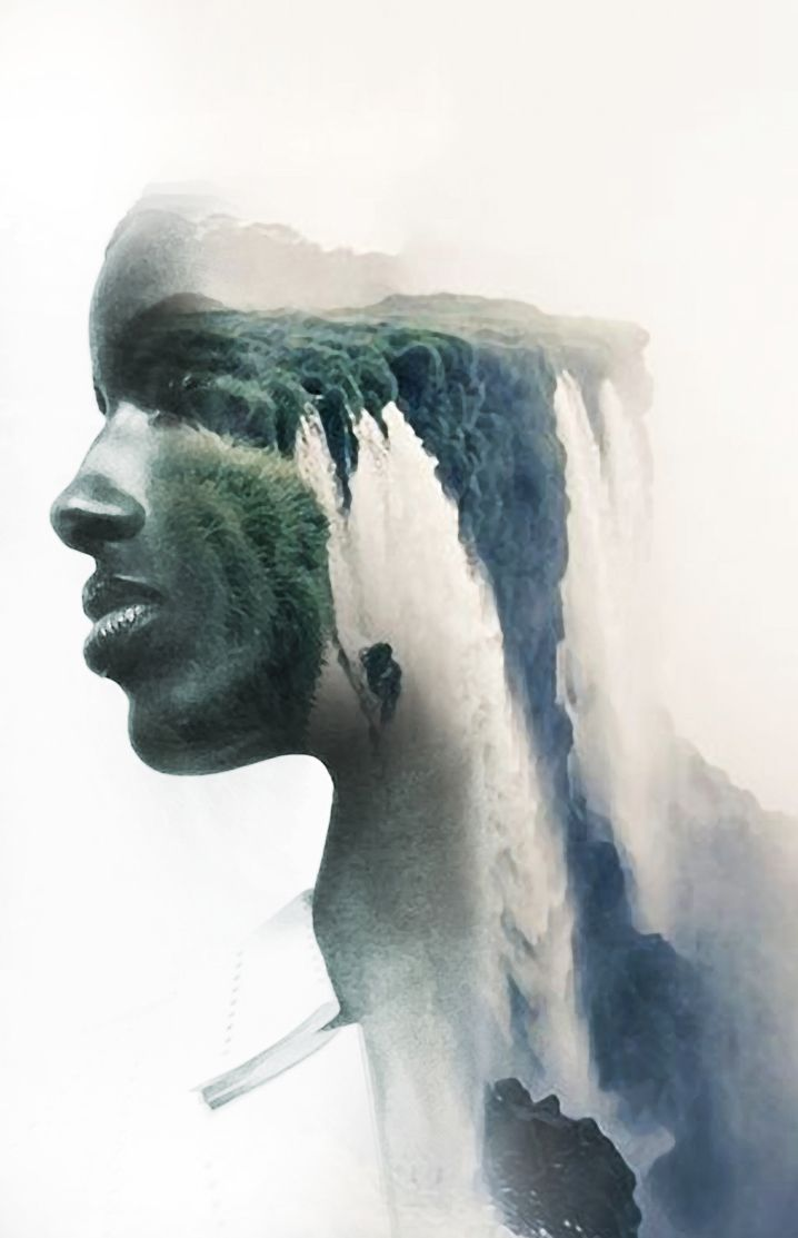 THE FALL, ANTONIO MORA (aka mylovt) ~ a Spanish artist who combines with talent portraits photographed in various landscapes.
