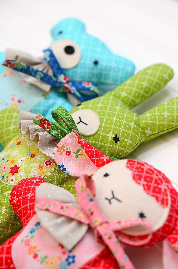 PATTERN Matchbox Chickens cute softie//toy PATTERN by Frazzy Dazzles