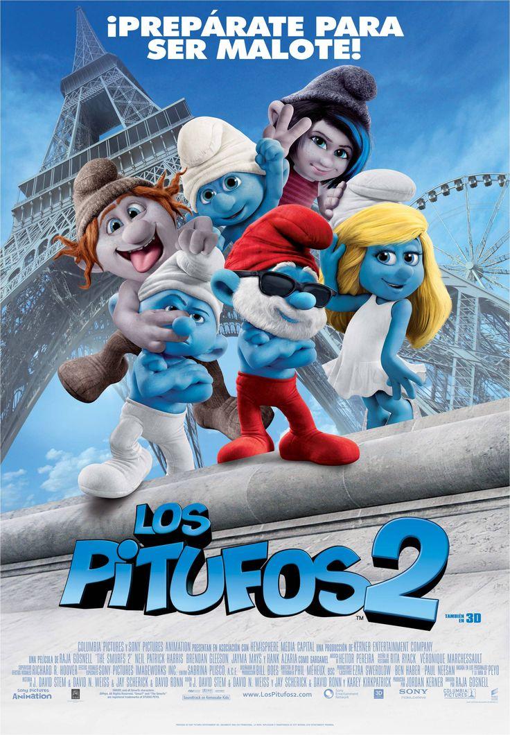 Los Pitufos 2, en Yelmo Cines Plaza Mayor http://www.yelmocines.es/cines-malaga/peliculas-en-cartelera-plaza-mayor-3d