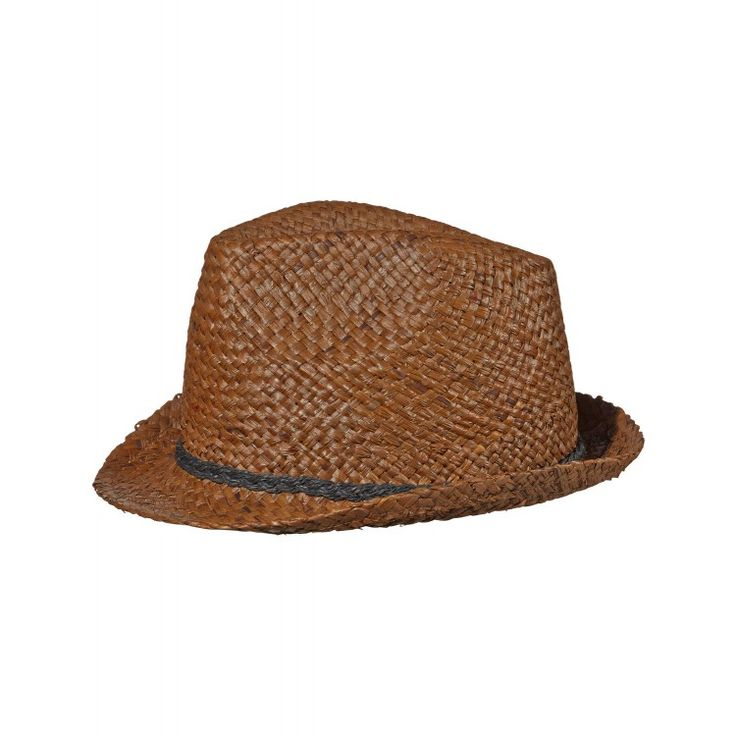 Scotch and Soda Straw Fedora