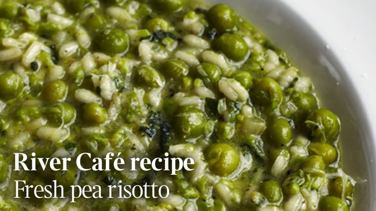 Risi e Bisi is a simple dish made with freshly shucked peas. The River Cafe recipe video plus wine matching tips