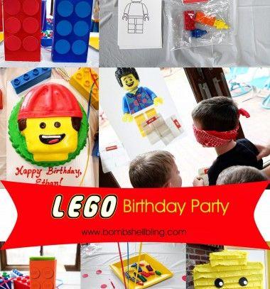 Lego birthday party - ideas and printables // Lego tematikájú szülinapi buli - ötletekkel és útmutatókkal // Mindy - craft & DIY tutorial collection