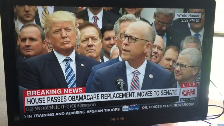 Greg Walden Speaking at Repeal Obamacare Party in Rose Garden