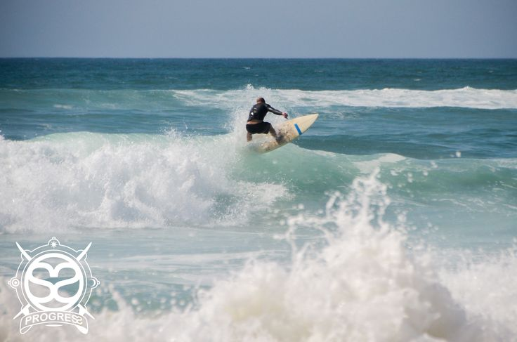 Surf's Up at Moliets Plage, France