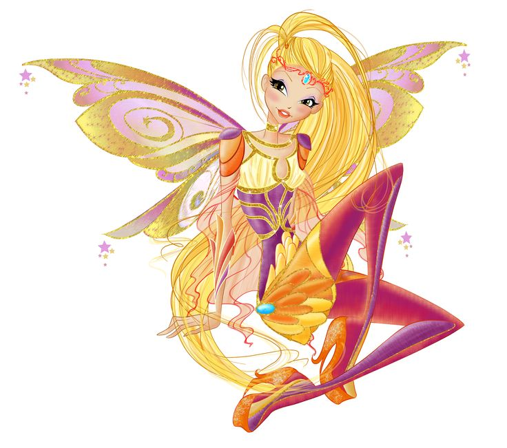 Winx Club: Stella! Princess Stella is the princess of Solaria and one of the founding members of the Winx Club. Stella is the keeper of the Ring of Solaria and Guardian Fairy of Solaria. She is the second Winx girl to be introduced; the first being Bloom.