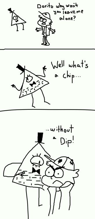 I usually don't like the Bill-Dorito-Thing, but this is funny.